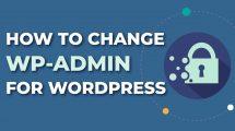 How To Hide WP-Admin in Wordpress