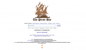 piratebay as 1337x proxy